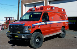 McMurdo Station, Antarctica - Antarctic Fire Department Ambulance 2